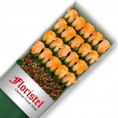 Caja de 20 Rosas Damasco