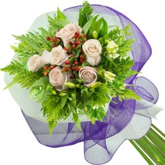 Ramos de 6 Rosas Blancas