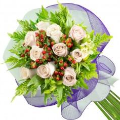 Ramos de 10 Rosas Blancas