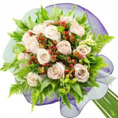 Ramos de 14 Rosas Blancas