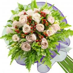 Ramos de 18 Rosas Blancas