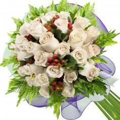 Ramos de 24 Rosas Blancas