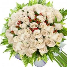 Ramos de 36 Rosas Blancas