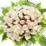 Ramos de 90 Rosas Blancas