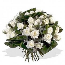 Ramo de 24 Rosas Blancas