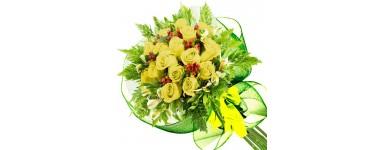 Ramos de Rosas Amarillas