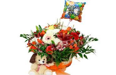 flores cumpleaños en La Cisterna