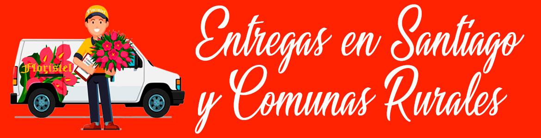 ENTTREGA DE ARREGLOS FLORALES EN SANTIAGO
